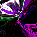 Purple Rain Homage To Prince Original Abstract Art Painting by RjFxx at beautifullart com