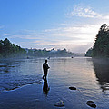 Flyfishing In Maine by Glenn Gordon