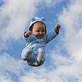 Flying Baby by Stephan Pabst