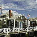 Flying Backwards-nantucket Massachusetts Series 05 by David Allen Pierson