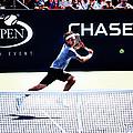 Flying Federer  by Nishanth Gopinathan