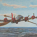 Coming Home - Boeing B-17 Flying Fortress by Martin Hall