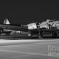 Flying Fortress On The Ramp by Rick Pisio