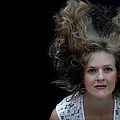 Flying Hair by Donna Blackhall