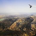 Flying Over Spanish Land I by Jenny Rainbow