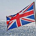 Flying The British Flag by Susie Peek