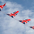 Flying The Union Jack by Ann Horn