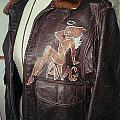 Flying Tiger Jacket Art by Richard La Motte