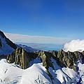 Flying To Fox Glacier #2 by Stuart Litoff