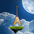 Flying V Guitar by Marvin Blaine