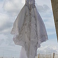Flying Wedding Dress 4 by Michelle Powell