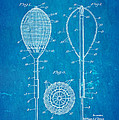 Flynn Merion Golf Club Wicker Baskets Patent Art 1916 Blueprint by Ian Monk
