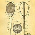 Flynn Merion Golf Club Wicker Baskets Patent Art 1916 by Ian Monk