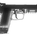 Fn 57 Hand Gun X-ray Photograph by Ray Gunz