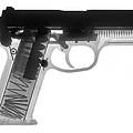 Fn P9a Hand Gun X-ray Print by Ray Gunz