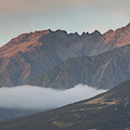 Fog Over Mountain At Dawn, Aorakimount by Panoramic Images