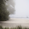 Foggy Beach by Margie Hurwich