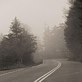 Foggy Morning Drive by Dan Sproul