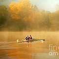 Foggy Morning On The Chattahoochee by Darren Fisher