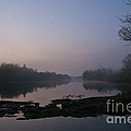 Foggy Morning On The River by Cheryl Baxter