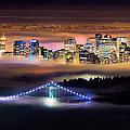 Foggy Night Crop by Alexis Birkill