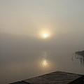 Foggy Reflections by Debbie Oppermann
