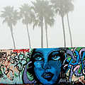 Foggy Venice Beach by Art Block Collections