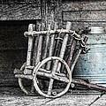Folk Art Cart Still Life by Tom Mc Nemar