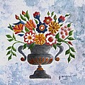 Folk Art Floral by Janet Wagner