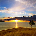 Folsom Lake Sunset by Rima Biswas