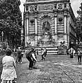 Fontaine Saint Michel by Deborah Simpson