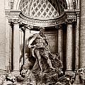 Fontana Di Trevi by Sophie McAulay