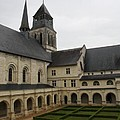 Fontevraud Abbey Courtyard -  France by Christiane Schulze Art And Photography