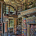 Fonthill Castle Library Room by Susan Candelario