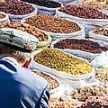 Food At Local Bazaar - Kashgar - China by Matteo Colombo