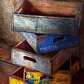 Food - Beverage - Pepsi-cola Boxes  by Mike Savad