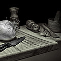 Food Prep Still Life by Tom Mc Nemar