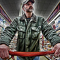 Food Shopping by Mark Miller