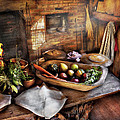 Food - The Start Of A Healthy Meal  by Mike Savad
