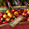 Food - Vegetables - Sweet Peppers For Sale by Mike Savad