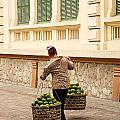 Food Vendor On Street Hanoi Vietnam by Jacek Malipan