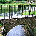 Foot Bridge At Inistioge by Charlie and Norma Brock