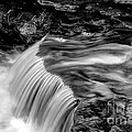Foot High Falls by Paul W Faust -  Impressions of Light