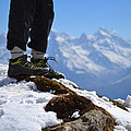 Foot On The Himalyas by Praveen Kanade