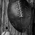 Football And Baseball by Garry Gay