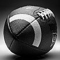 Football Black And White by Bradley R Youngberg
