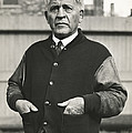 Football Coach Alonzo Stagg by Underwood Archives