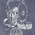 Football Helmet Patent by Dan Sproul