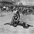 Football Injury, 1891 by Granger