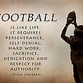 Football by Lori Deiter